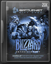 Battlenet Gift Card 20 EURO