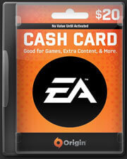 EA Origin Cash Card USD$ 20