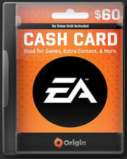 EA Origin Cash Card-USD$ 60