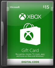 XBOX Gift Card 15 USD